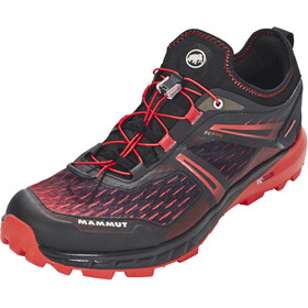 Mammut Sertig Low Running Shoes Men red/black